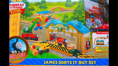 Thomas And Friends JAMES SORTS IT OUT SET - Wooden Railway