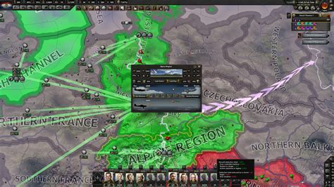 Fighting Germany in the late game : hoi4