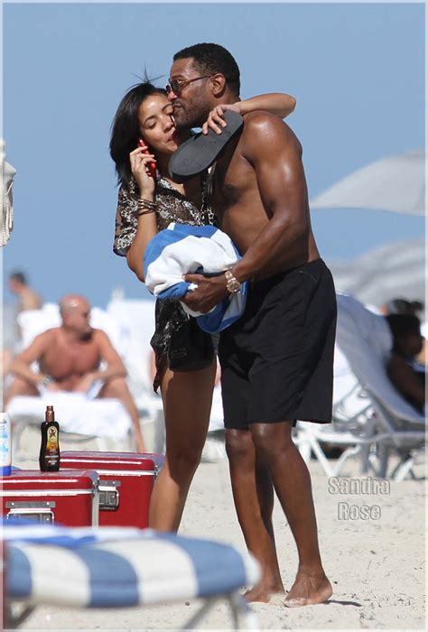 Celebrity Couples: Chilli and Mystery Man, Maxwell and