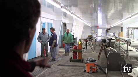 Maine Fair Trade Lobster processing plant gears up - YouTube