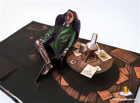 The Raven: A Pop-Up Book by David Pelham - Review and Video