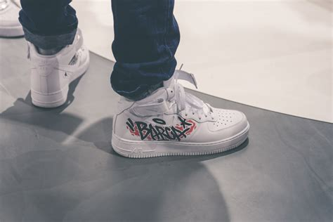 Snipes X Nike Air Force 1 Customization Lab in Berlin