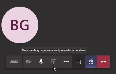 Restricting participant access in Microsoft Teams Meetings