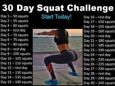 Jen Selter 30 day squat challenge   Workout results, 30
