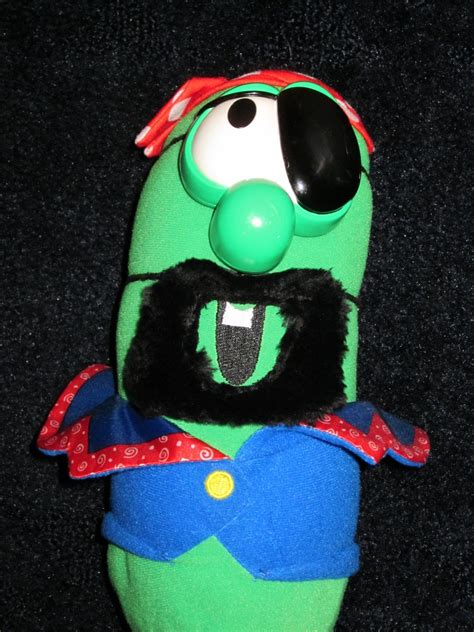 Fisher Price Veggie Tales Larry the Cucumber dressed as