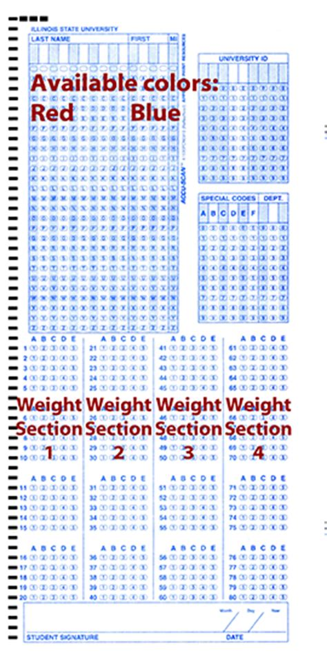 Opscan Testing Sheets   Center for Teaching, Learning, and
